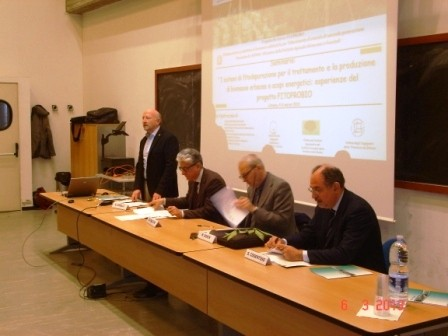Dissemination activities carried out by Csei Catania